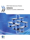 Livre numérique Greece: Review of the Central Administration