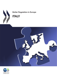 Livre numérique Better Regulation in Europe: Italy 2012