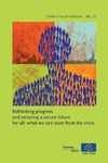 Livre numrique Rethinking progress and ensuring a secure future for all: what we can learn from the crisis (Trends in social cohesion n22) 