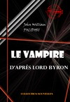 Livre numrique Le Vampire, d&#x27;aprs Lord Byron