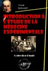 Livre numrique Introduction  l&#x27;tude de la mdecine exprimentale