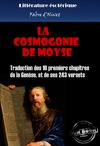 Livre numrique La cosmogonie de Moyse