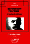 Livre numrique Dfinitions du crime et fonction du chtiment