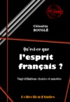 Livre numrique Quest-ce que lesprit franais ?