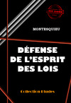 Livre numrique Dfense de l&#x27;Esprit des Lois